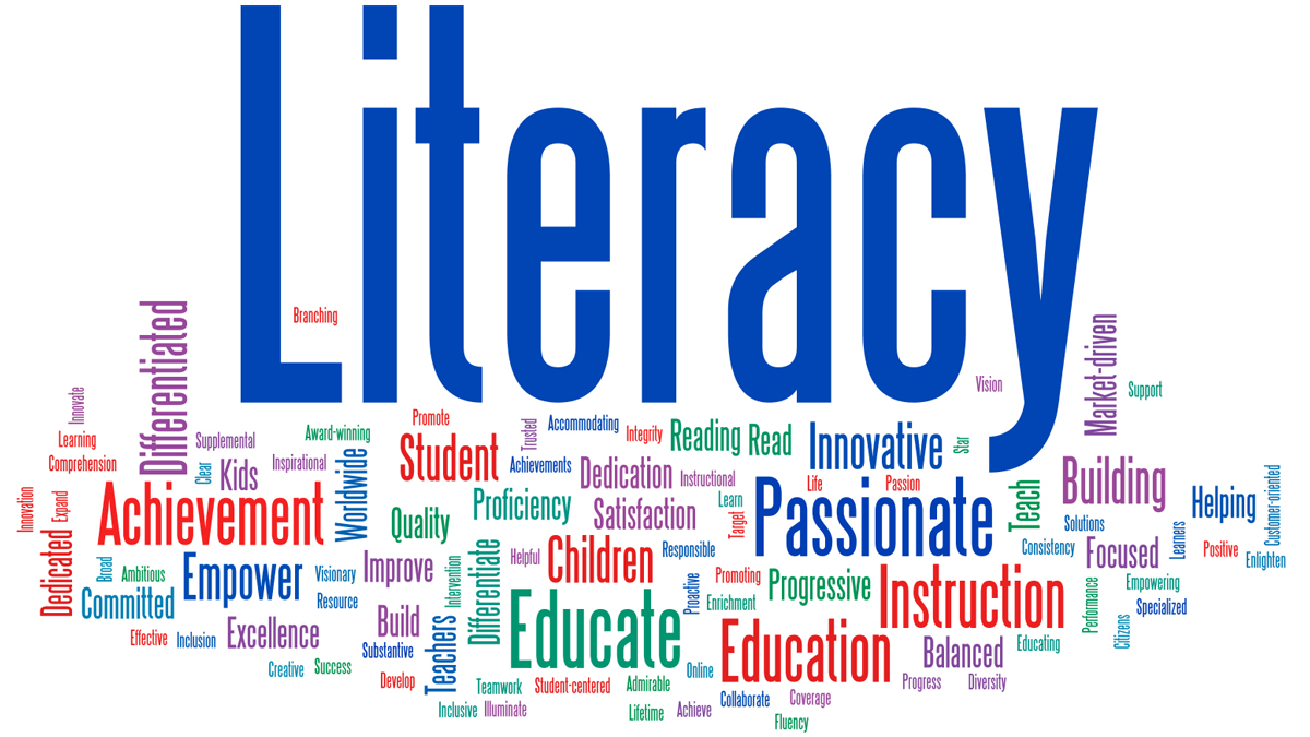 Image result for literacy wordle